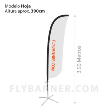 FLY BANNER HOJA XL