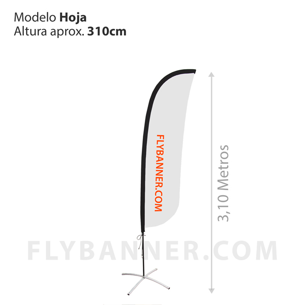 Fly Banner Hoja