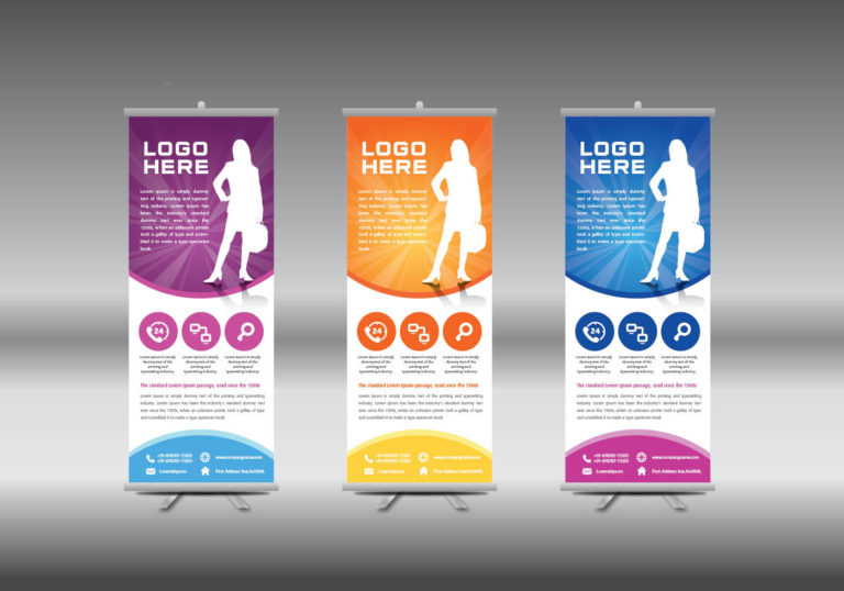 Razones para invertir en un roll up banner